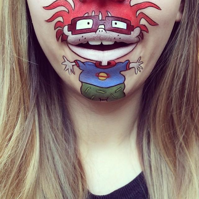 Cartoon-Lip-Art-By-Makeup-Artist-Laura-Jenkinson-1