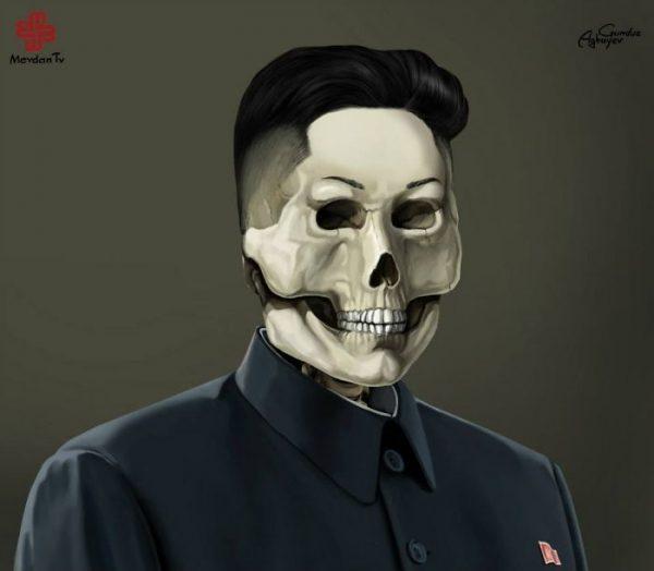 Gunduz_Agayev_Kim_Jong_Un